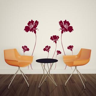 Fleurs coquelicot, Gali Art