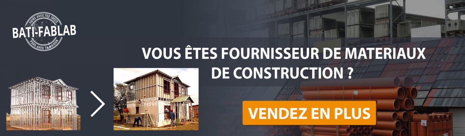 Vendez vos matériaux de construction sur nos ossatures métalliques